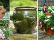 Děravé květináče Zdroj: Pinterest