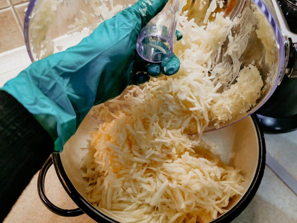 Nakrájaná cuketa