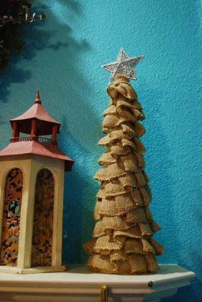 Inspirace na dekorace z pytloviny