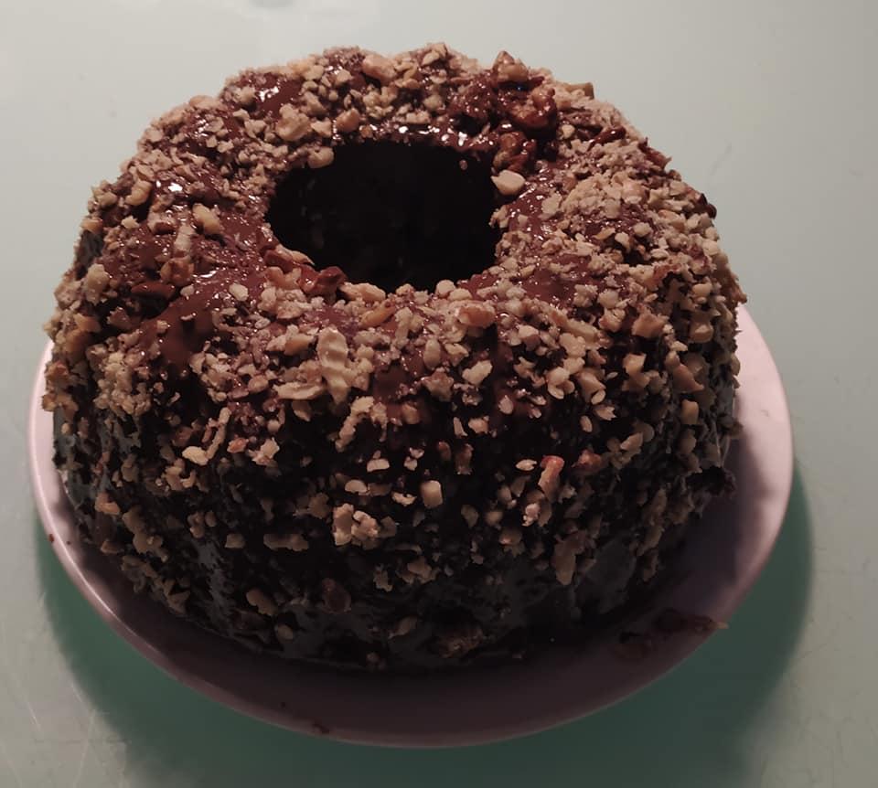 Recept na kakaovou bábovku s lískovými oříšky